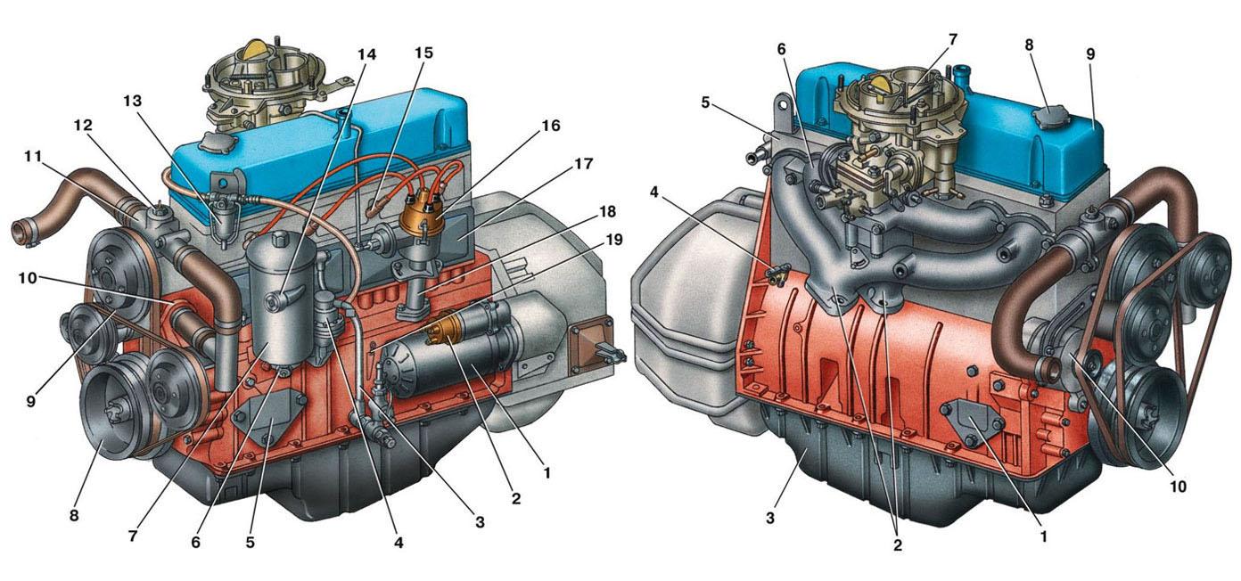 схема электропроводки Газель 402 двигатель.  Родной 402 двигатель для Газели.