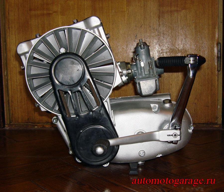 Воздушное охлаждение двигателя мопеда своими руками 82