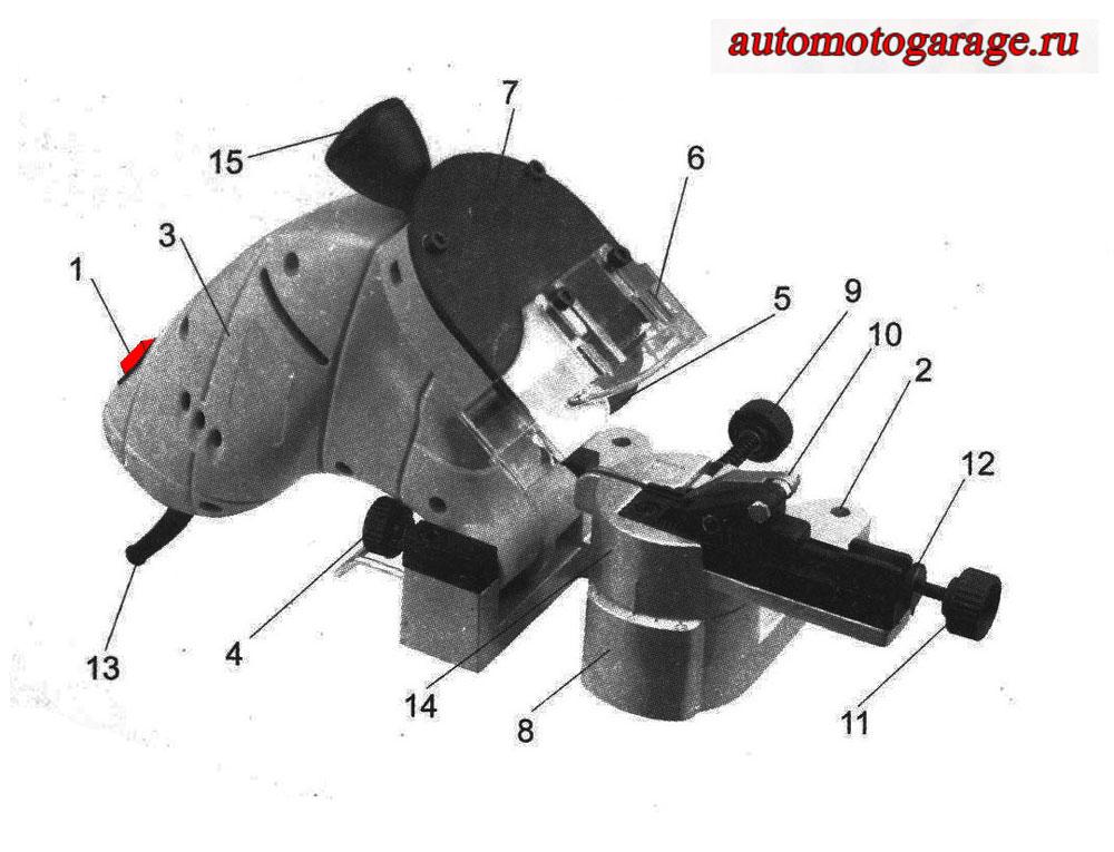 Станок Для Заточки Цепей Sturm Bg60016 Инструкция