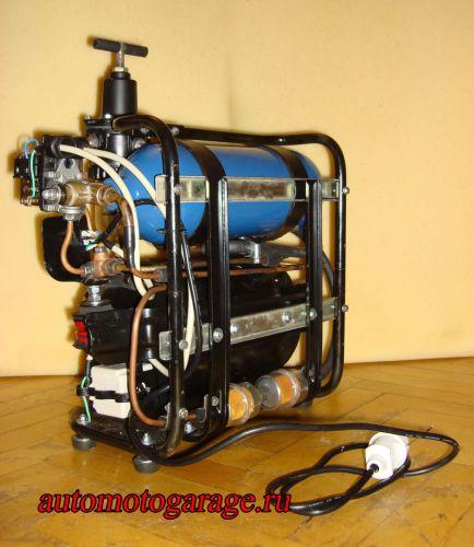 Воздушный компрессор из компрессора кондиционера автомобиля своими руками 86