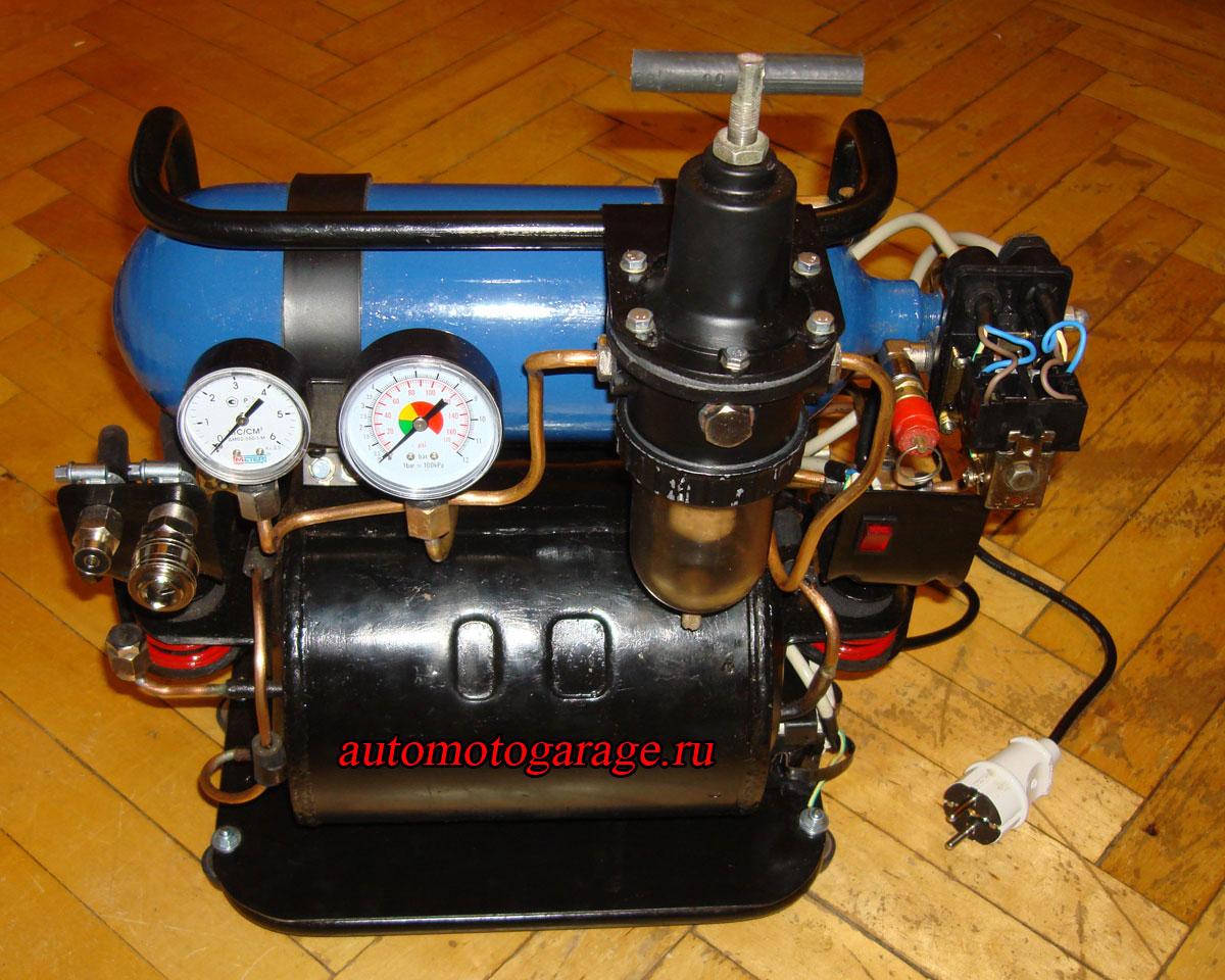 Из чего и как сделать компрессор 363